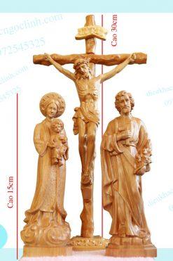 Tượng Chịu Nạn đức Mẹ Lavang Thánh Giuse 15cm