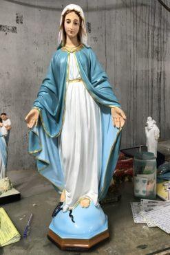 Tượng đức Mẹ Ban ơn Cổ 60cm 02