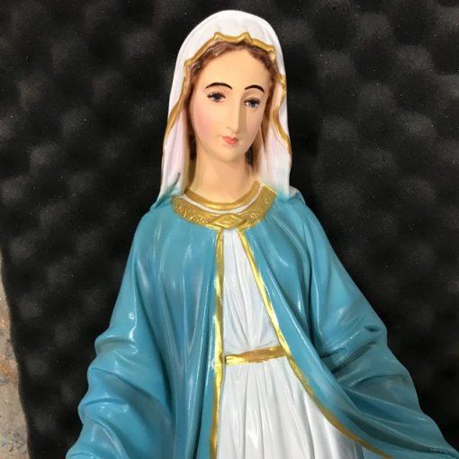 Tượng đức Mẹ Ban ơn Cổ 60cm