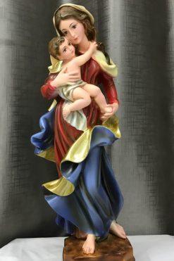 Tượng đức Mẹ Bế Chúa 40cm (1)