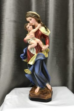 Tượng đức Mẹ Bế Chúa 40cm (3)