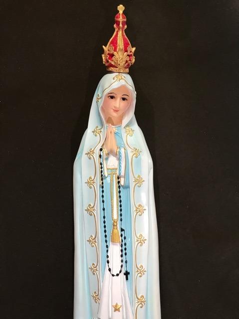 Tượng đức Mẹ Fatima 80cm (2)