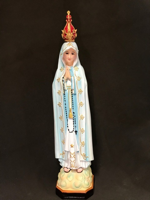 Tượng đức Mẹ Fatima 80cm (5)