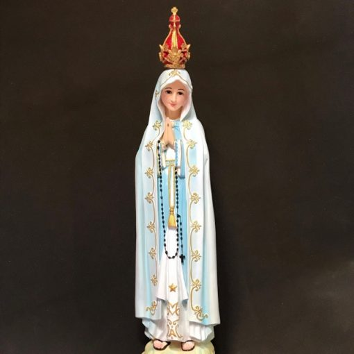Tượng đức Mẹ Fatima 80cm (6)
