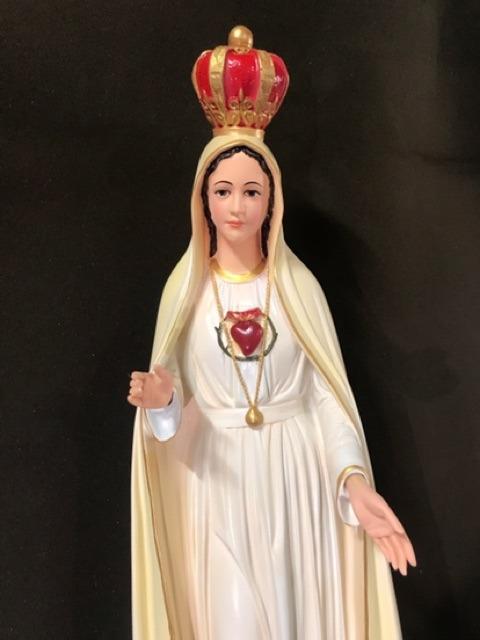 Tượng đức Mẹ Fatima Mẫu ý 70cm 05