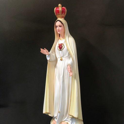 Tượng đức Mẹ Fatima Mẫu ý 70cm