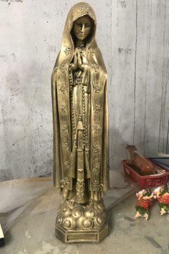 Tượng đức Mẹ Giả đồng Cao 70cm (1)