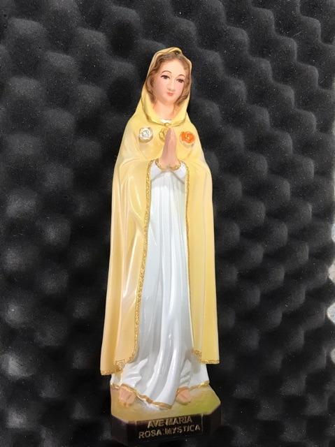Tượng đức Mẹ Hoa Hồng 30cm 03
