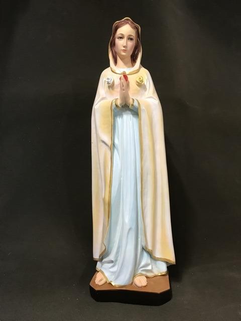 Tượng đức Mẹ Hoa Hồng 70cm (1)