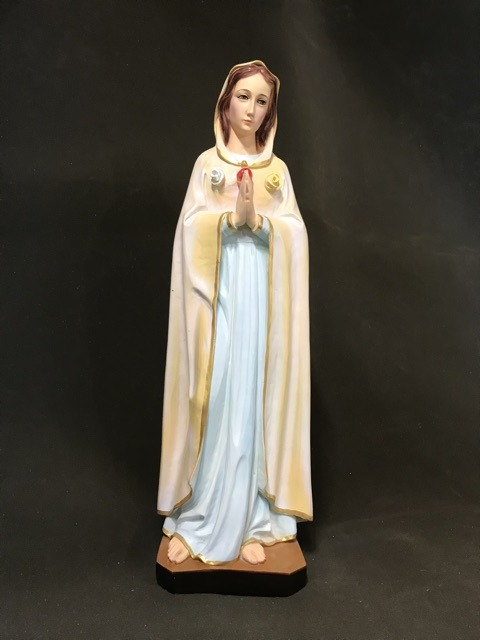Tượng đức Mẹ Hoa Hồng 70cm (2)
