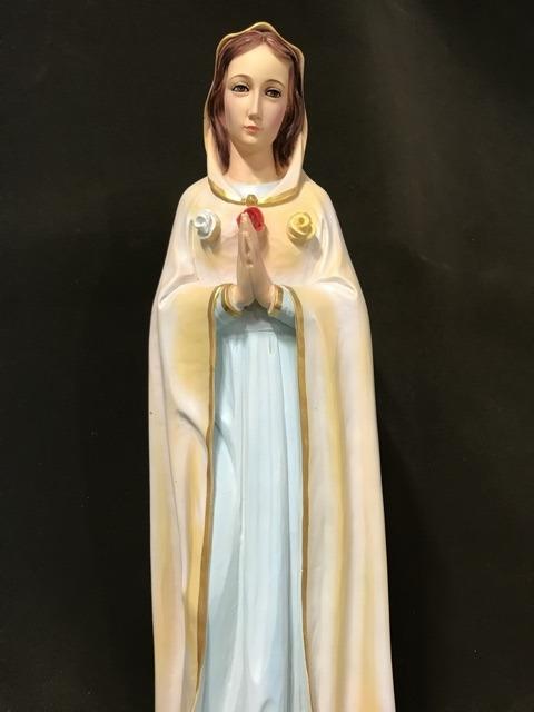 Tượng đức Mẹ Hoa Hồng 70cm (3)
