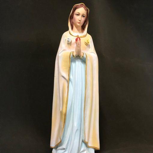 Tượng đức Mẹ Hoa Hồng 70cm (4)
