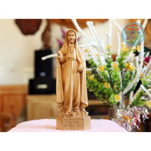 Tượng đức Mẹ Măng đen 20cm 01