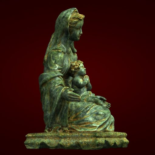 Tượng đức Mẹ Maria đá Nhân Tạo Composite 04