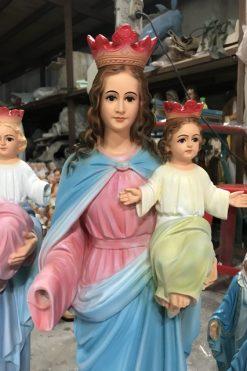 Tượng đức Mẹ Phù Hộ 70cm (4)