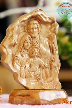 Tượng Gia đình Thánh Gia Cao 17cm 01