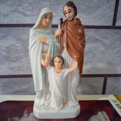 Tượng Gia đình Thánh Gia Gốm Sứ