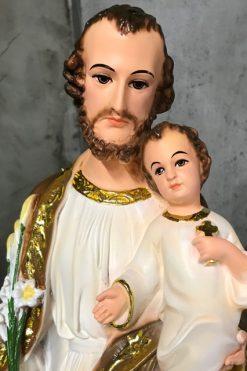 Tượng Giuse Bế Chúa 60cm (7)