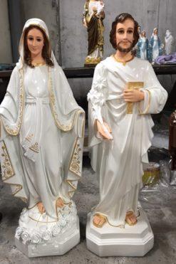 Tượng Thánh Giuse Cao 80cm 03