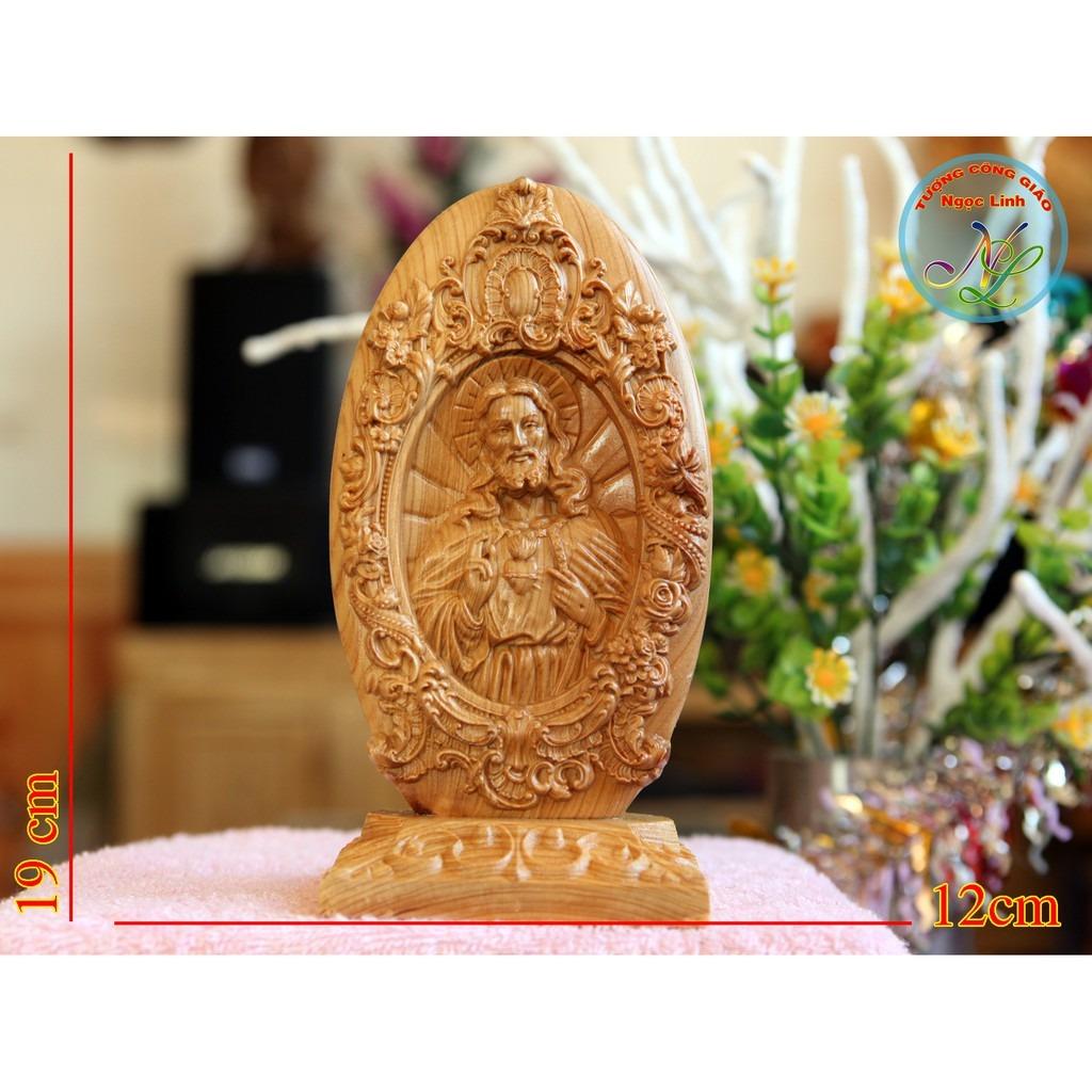 Tượng Trái Tim Chúa 19cm