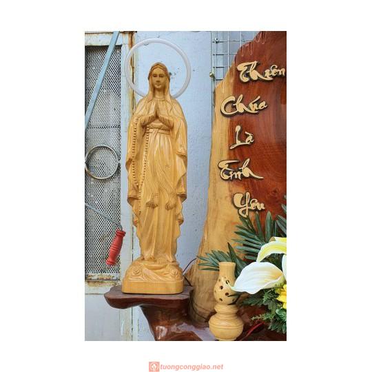 Bàn Thờ Công Giáo Gỗ Hương 02