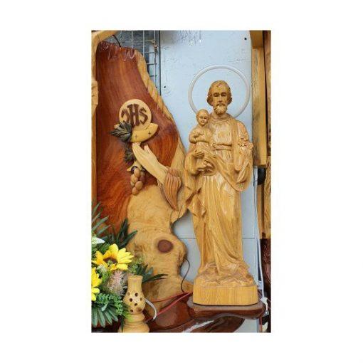 Bàn Thờ Công Giáo Gỗ Hương 04