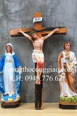 Bộ Tượng Bàn Thờ Công Giáo 40cm