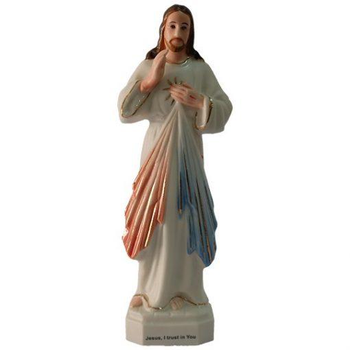 Chúa Thương Xót Cao 13cm Gốm Sứ