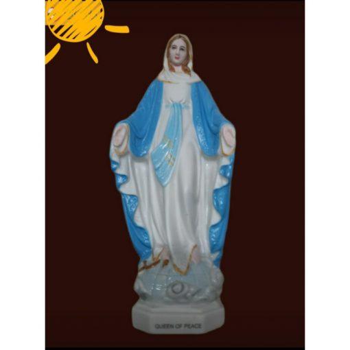 Đức Mẹ Ban Ơn Ceramic (sứ) Cao 13cm 03