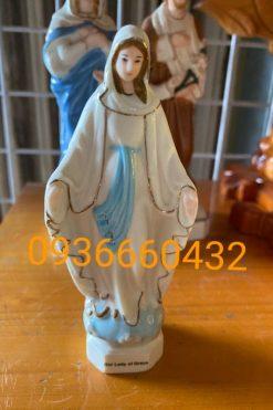 Đức Mẹ Ban Ơn Ceramic (sứ) Cao 13cm 043