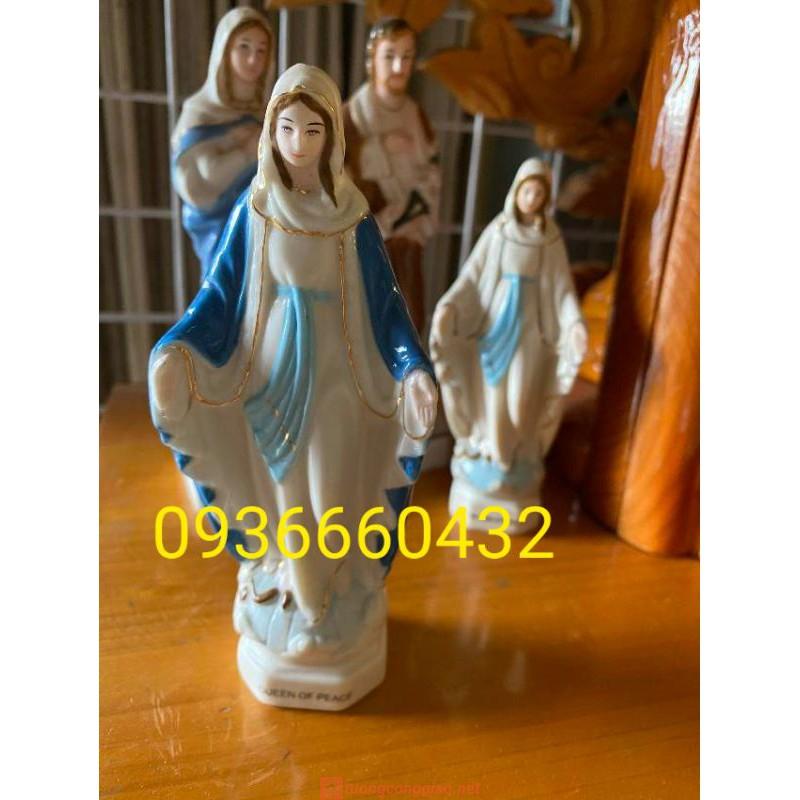 Đức Mẹ Ban Ơn Ceramic (sứ) Cao 13cm 06