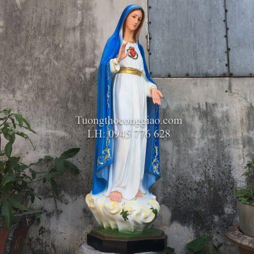 Đức Mẹ Fatima Cao 120cm (1)
