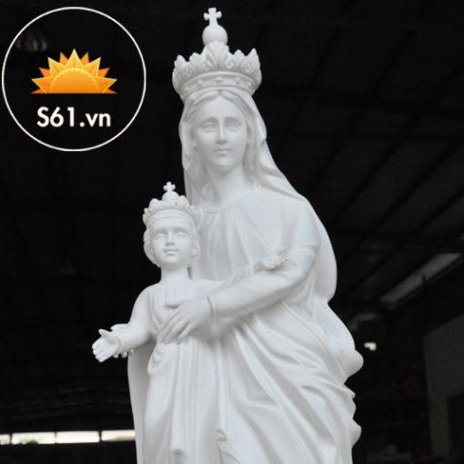 Đức Mẹ La Vang Mẫu Cổ Italy 80cm (1)