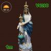 Đức Mẹ La Vang Mẫu Cổ Italy 80cm (2)