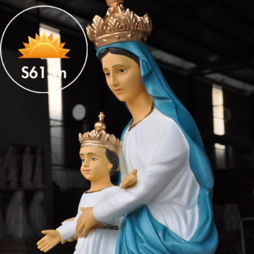 Đức Mẹ La Vang Mẫu Cổ Italy 80cm (3)