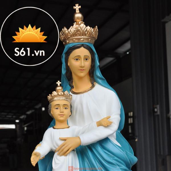 Đức Mẹ La Vang Mẫu Cổ Italy 80cm (4)