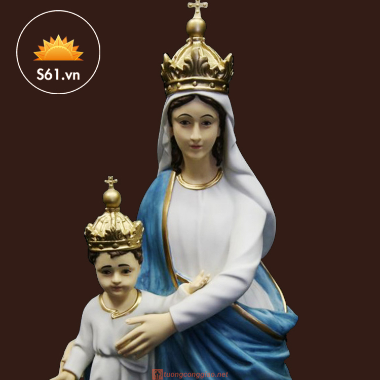 Đức Mẹ La Vang Mẫu Cổ Italy 80cm (6)