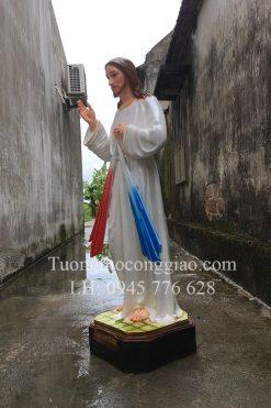 Lòng Chúa Thương Xót Cao 120cm 06
