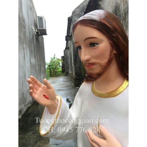 Lòng Chúa Thương Xót Cao 120cm 08