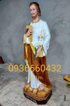 Thánh Giuse Thợ Cao 100cm 02