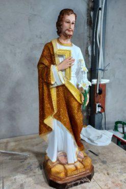 Thánh Giuse Thợ Cao 100cm 03