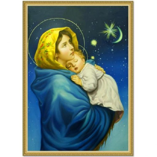 Tranh Dán Tường Công Giáo đức Mẹ Maria