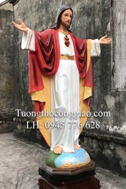 Tượng Chúa Kito Vua Cao 1m4 (1)