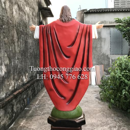 Tượng Chúa Kito Vua Cao 1m4 (2)