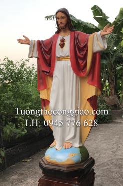 Tượng Chúa Kito Vua Cao 1m4 (4)