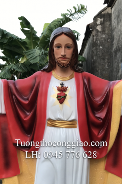 Tượng Chúa Kito Vua Cao 1m4 (6)