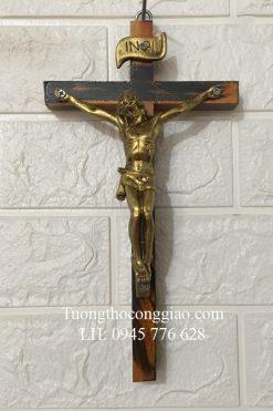 Tượng Chúa Chịu Nạn 17cm, Thánh Giá Cao 27cm 05