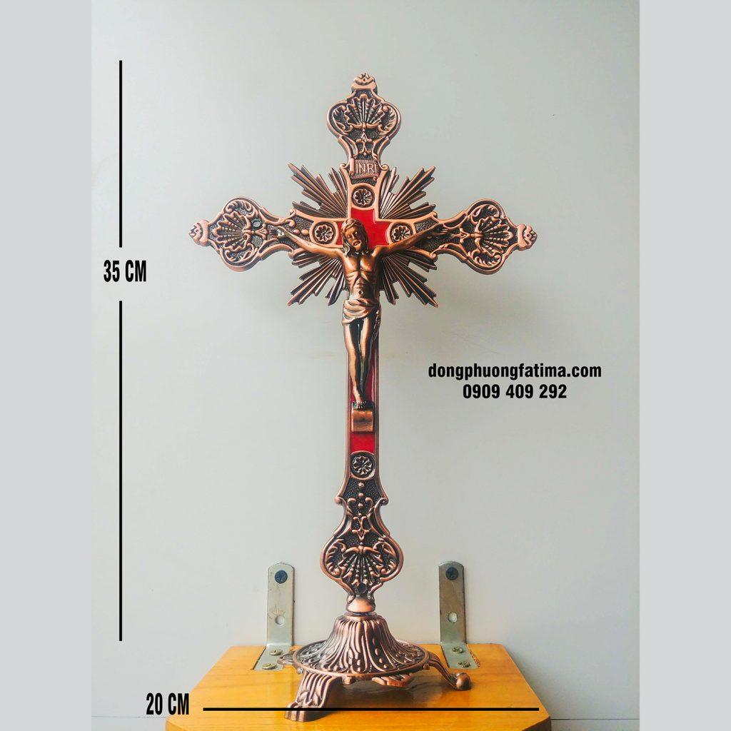 Tượng Chúa Chuộc Tội Kim Loại Màu đồng (1)