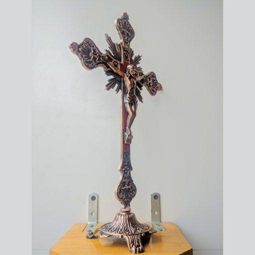 Tượng Chúa Chuộc Tội Kim Loại Màu đồng (6)