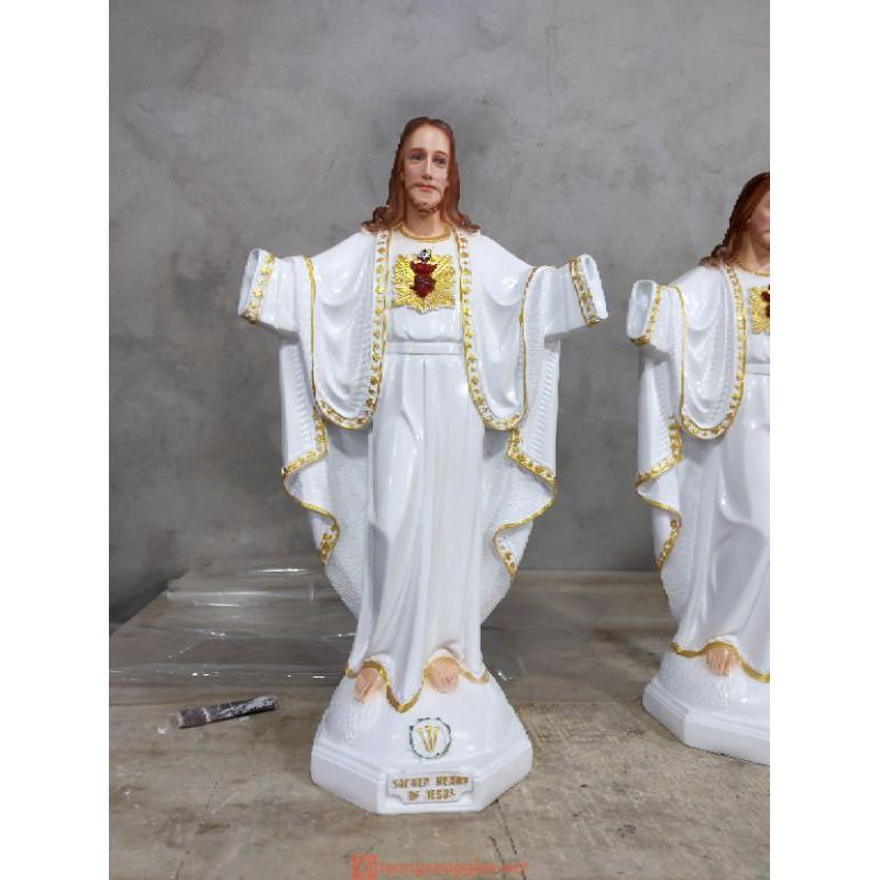 Tượng Chúa Kito Vua Cao 50cm 02